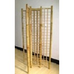 4 Sided Bamboo Gridwall Tower