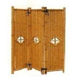 Three Panel Bamboo Divider - 54 in.