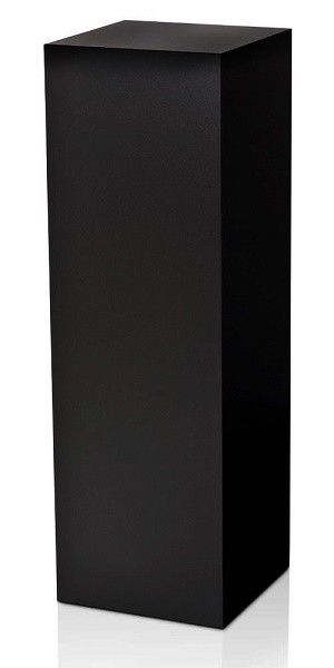 "Laminate Pedestal - Black or White- 42""H"