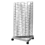 Black Tri-Grid Tower Display - 3 inch Grid