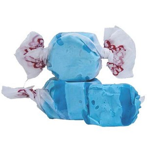 Blue Raspberry Salt Water Taffy - 5lbs
