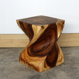 Big Twist Solid Wood Table - Oil Finish Choices