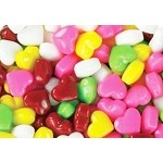 Rainbow Candy Hearts - 10lbs