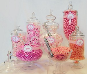 Candy Buffet Package Filled Candy Display Candy Buffet