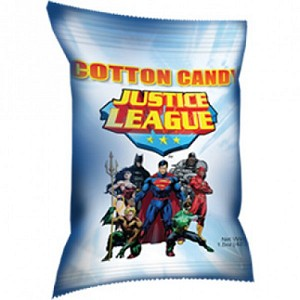 Justice League Cotton Candy - 24ct