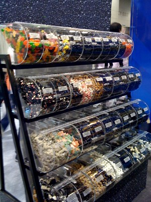 Candy Rack And Top Gummy Candy - 448lbs