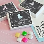 Chalkboard Baby - Gum Box Favors - 24ct