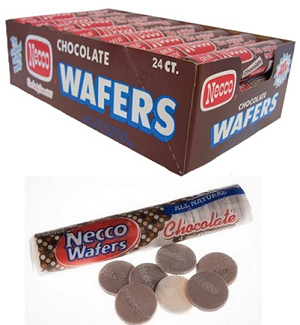 Chocolate Necco Wafers - 24ct