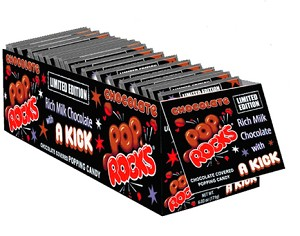 Chocolate Pop Rocks - 24ct