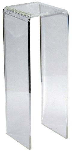 Clear Waterfall Acrylic Pedestal - Size Options
