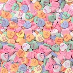 Conversation Hearts - 8lbs