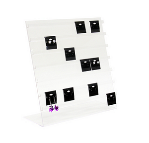 Countertop Jewelry Card Easel