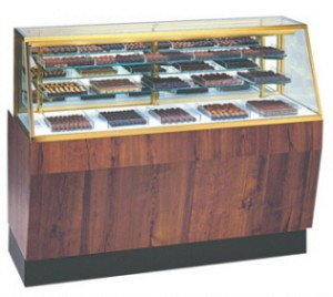 "Climate Controlled Candy Display Case - 48"" to 70"""