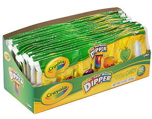 Crayola Color Your Mouth King Size Dippers - 18ct