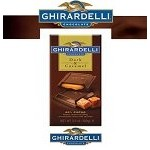 Ghirardelli Dark and Caramel Bars  - 12ct