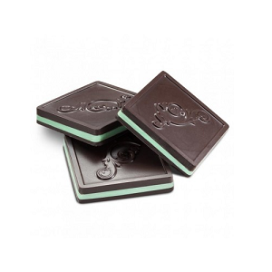 Dark Chocolate Mint Squares - 10lbs