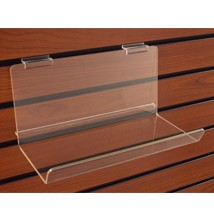 Deep Acrylic Shelf With Lip - 5in D x 48in W