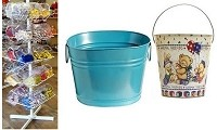 DISPLAY BUCKETS / PAILS