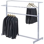 Double Bar Garment Rack