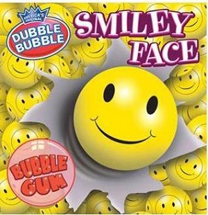 Yellow Smiley Face - 850ct