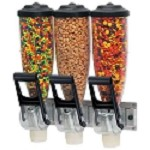 Triple 2L Wall Mount Topping Dispenser