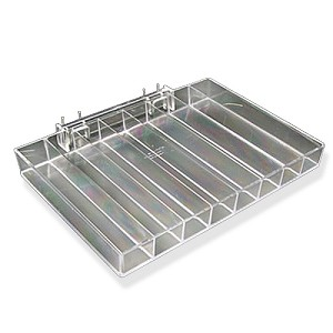 Eight Compartment Nail Polish Tray - 2ct