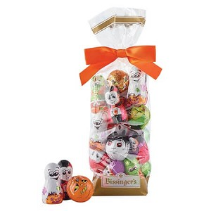 Foiled Chocolate Halloween Characters - 12ct