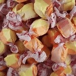 Fresh Apricot Salt Water Taffy - 20lbs