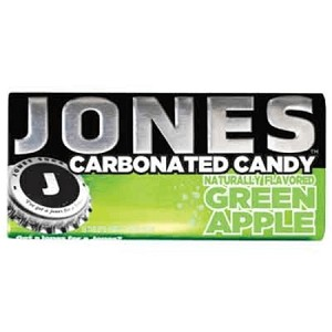 Jones Carbonated Candy Green Apple - 8ct