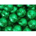 Green Foil Chocolate Marble - 10lbs