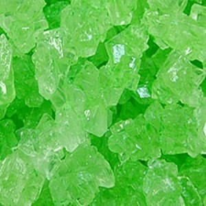 Green Watermelon Rock Candy Strings - 10lbs