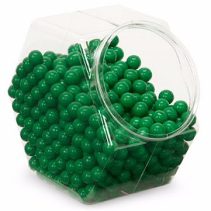 Single Color Sixlets - Green - 12lbs