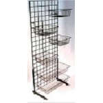 Double Wide Slim Bin Rack
