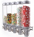 5 Toppings Dispenser - Wall Mount
