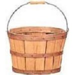 Half Bushel Picking Basket With Handle  - 12ct
