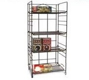Heavy Duty Adjustable Shelving Rack - 4 Shelves
