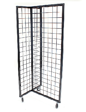 Heavy Duty T-Grid Display Rack
