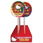 Hello Kitty Twirl Pops - 5oz - 18ct