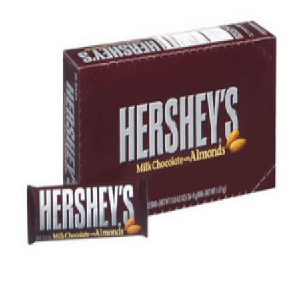 Hershey's Milk Chocolate With Almonds - 36ct