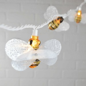 Honey Bees String Lights 6ft