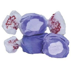 Huckleberry Salt Water Taffy - 20lbs