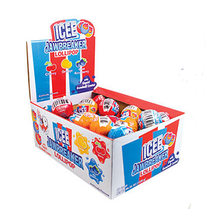 ICEE Jawbreaker Lollipop - 40ct