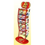 Jelly Belly Ripple Rack w/ 144 Peg Bags