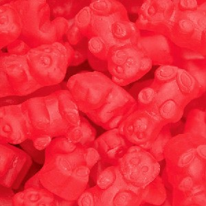 Red Cinnamon JuJu Bears - 15lbs