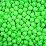 Kelly Green Chocolate Gems - 15lbs
