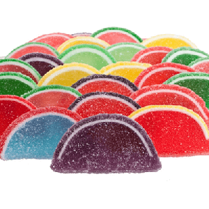 Large Assorted Unwrapped Fruit Slices - 10lbs
