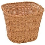 Large Square Willow Basket