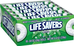 Life Savers - Wintergreen - 20ct