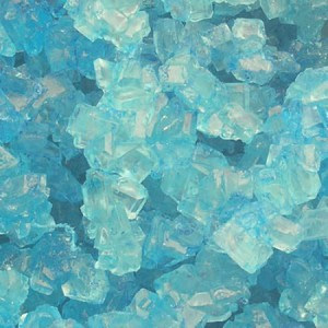 Light Blue Cotton Rock Candy Strings - 10lbs