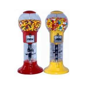 Little Spiral Gumball Machine